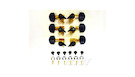 PRS ACC-4326 Low Mass Locking Tuners, Gold (Set of 6)