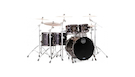 MAPEX Sv628xbkfb Batteria Saturn V Mh Exotic 5 Pezzi Satin Black Maple Burl