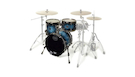 MAPEX Sv481xbmsl Batteria Saturn V Mh Exotic Club 3 Pezzi Deep Water Maple Burl