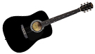 FENDER Squier SA105 Black