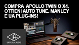 Desktop Platinum Vocal Promo: Plugin in OMAGGIO con Apollo Twin o Apollo x4