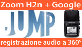 Zoom H2n: registrazioni audio a 360� per Google Jump