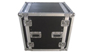 "Flight Case 12 Unit� Rack 19"" con Ruote"