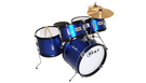 Batteria Acustica Junior Blu Navy