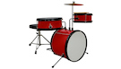 Batteria Acustica Junior Student Wine Red