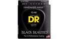 DR STRINGS BKE-10 Black Beauties
