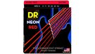 DR STRINGS NRE-9 Neon Hi-Def Red Electric
