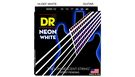 DR STRINGS NWE-10 Neon Hi-Def White Electric Medium