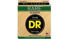 DR STRINGS RPL-10 Rare Acoustic