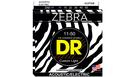DR STRINGS ZAE-11 Zebra Acoustic-Electric