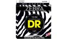 DR STRINGS ZAE-12 Zebra Acoustic-Electric