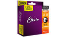 ELIXIR 16539 Nanoweb 11052 Light Acoustic (3 pack)