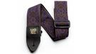 ERNIE BALL 4164 Jacquard Guitar Strap Purple Paisley