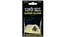 ERNIE BALL 9224 Super Glow Cellulose Thin Picks (12 pcs)