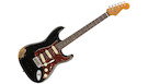 FENDER 2018 Limited Edition '60 Roasted Strat Heavy Relic RW Aged Black