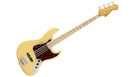 FENDER American Original '70s Jazz Bass MN Vintage White