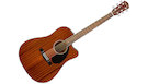FENDER CD60SCE Dreadnought All-Mahogany