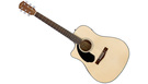 FENDER CD60SCE LH Natural (mancina)
