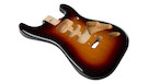 FENDER Deluxe Strat Alder Body 3-Color Sunburst