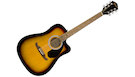 FENDER FA125CE Dreadnought Walnut SunBurst