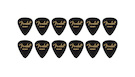 FENDER 351 Shape Premium Picks Heavy - Black (12 Count)