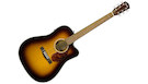 FENDER CD140SCE Dreadnought Sunburst with Case