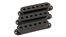 FENDER Pickup Covers Stratocaster Black (3)