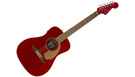 FENDER Malibu Player WN Candy Apple Red