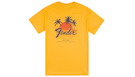 FENDER Palm Sunshine Unisex T-Shirt Marigold S