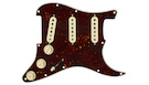 FENDER Pre-Wired Strat PickGuard SSS FAT 50's Tortoise Shell