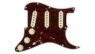FENDER Pre-Wired Strat PickGuard SSS Tex Mex Tortoise Shell