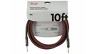 FENDER Professional Series Instrument Cable Straight/Straight 3m Red Tweed