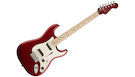 FENDER Squier Contemporary Stratocaster HH MN Dark Metallic Red