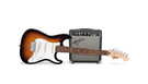 FENDER Squier Stratocaster Pack SSS 10G Brown Sunburst