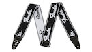FENDER Weighless Strap Running Logo B/W