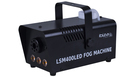IBIZA LSM400LED Black Mini Fog Machine with Led