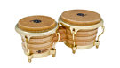 LATIN PERCUSSION LP201AX-2AW Bongo Legno Naturale