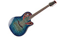 OVATION CE48P-RG Celebrity Super Shallow Caribbean Blue/Natural Burst