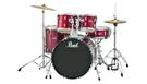 PEARL Roadshow RS525SC/C Red Wine con Piatti e Sgabello
