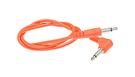 DOEPFER A-100C50A Cable 50cm Orange Angled