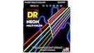 DR STRINGS MCE-10 Muti-Color Medium