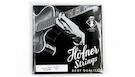 HOFNER H1133RB Beatle Bass Strings