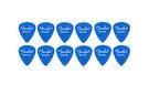 FENDER Pack 12 Plettri California Clear Medium Blue