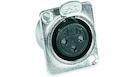 Presa da Pannello XLR in Alluminio 3 Poli a Saldare
