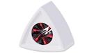 RYCOTE 107308 Portalogo Universale Triangolare White