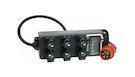 PROEL SDC360 Power box portatile spina 32A / 6 uscite CEE 16A