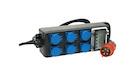 PROEL SDC350 Power box portatile spina 32A /6 uscite Schuko 16A