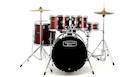 MAPEX TORNADO 5294 Pop/Rock con Hardware e Piatti Rossa B-Stock