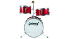 PLANET DBJ30-62 Baby Drum Set Metallic Red