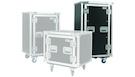PROEL SA20BLKM Flight case 20U con ruote e supporto mixer